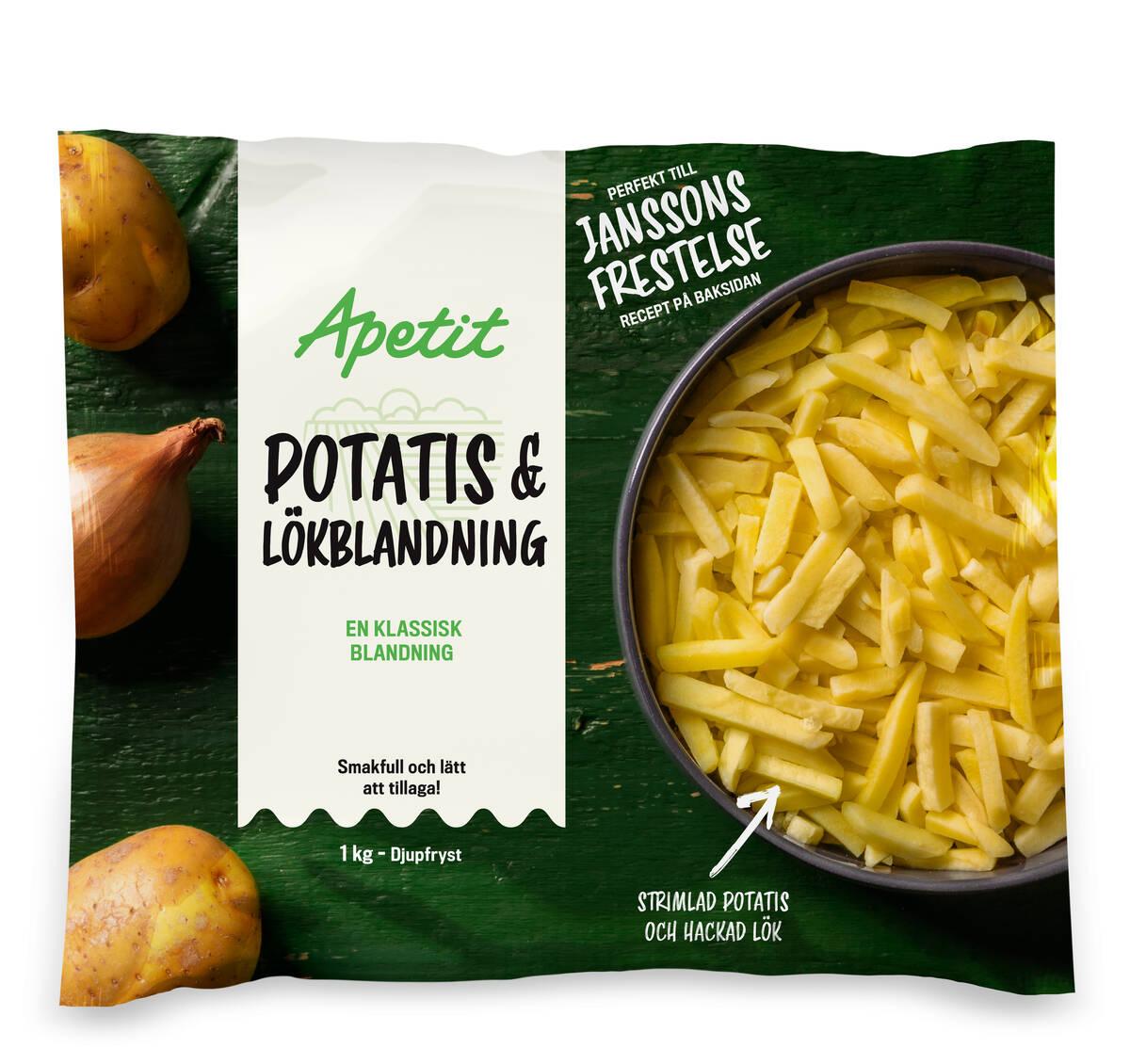 Potatis-lökblandning 1 kg